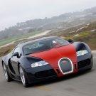 "Bugatti Veyron Fbg par Hermes Car Poster Print on 10 mil Archival Satin Paper 20"" x 15"""