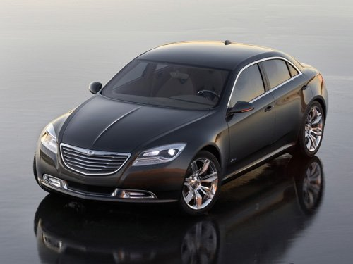 "Chrysler 200C EV Concept Car Poster Print on 10 mil Archival Satin Paper 20"" x 15"""