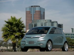 "Chrysler Akino Car Poster Print on 10 mil Archival Satin Paper 16"" x 12"""