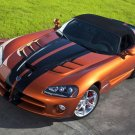 "Dodge Viper SRT10 2010 Car Poster Print on 10 mil Archival Satin Paper 16"" x 12"""