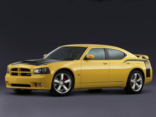 """Dodge Charger SRT8 Super Bee Car Poster Print on 10 mil Archival Satin Paper 16"""" x 12"""""""