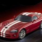 "Dodge Viper SRT 10 Roadster Car Poster Print on 10 mil Archival Satin Paper 16"" x 12"""