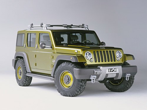 """Jeep Rescue Car Poster Print on 10 mil Archival Satin Paper 16"""" x 12"""""""