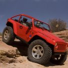 """Jeep Lower Forty Car Poster Print on 10 mil Archival Satin Paper 16"""" x 12"""""""