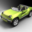 """Jeep Renegade Concept Car Poster Print on 10 mil Archival Satin Paper 16"""" x 12"""""""