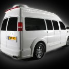 "Depp Auto Tuning Chevrolet Express Platinum Car Poster Print on 10 mil Archival Satin Paper 20""x15"""