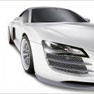 "Audi R8 Spark Eight Car Poster Print on 10 mil Archival Satin Paper 20"" x 15"""