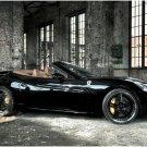 "Edo Ferrari California Car Poster Print on 10 mil Archival Satin Paper 16"" x 12"""