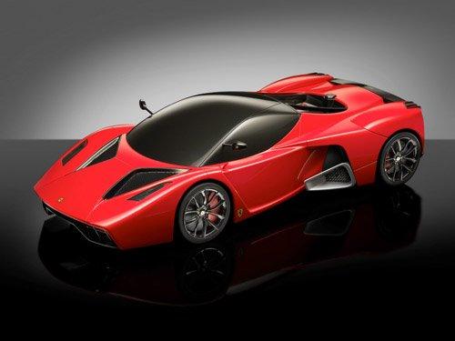 "Ferrari Testarossa Torino Car Poster Print on 10 mil Archival Satin Paper 16"" x 12"""