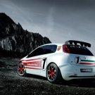 "Fiat Abarth Grande Punto S2000 Car Poster Print on 10 mil Archival Satin Paper 16"" x 12"""