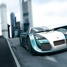 "Gumpert Apollo Speed Car Poster Print on 10 mil Archival Satin Paper 16"" x 12"""