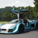 "Gumpert Apollo Sport Nurburgring Lap Record Car Poster Print on 10 mil Archival Satin Paper 20""x15"""