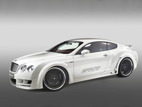 "Hamann Bentley Continental Imperator Car Poster Print on 10 mil Archival Satin Paper 16"" x 12"""