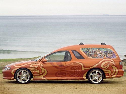 "Holden Sandman Concept Car Poster Print on 10 mil Archival Satin Paper 16"" x 12"""