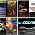 "Honda Rolling Film Festival Car Poster Print on 10 mil Archival Satin Paper 16"" x 12"""