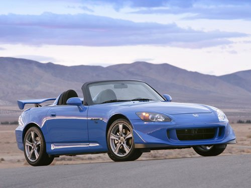 "Honda S2000 CR Concept Car Poster Print on 10 mil Archival Satin Paper 16"" x 12"""