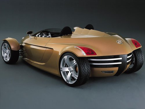 "Hyundai NEOS Concept Car Poster Print on 10 mil Archival Satin Paper 16"" x 12"""