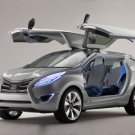 """Hyundai Nuvis Concept Car Poster Print on 10 mil Archival Satin Paper 16"""" x 12"""""""