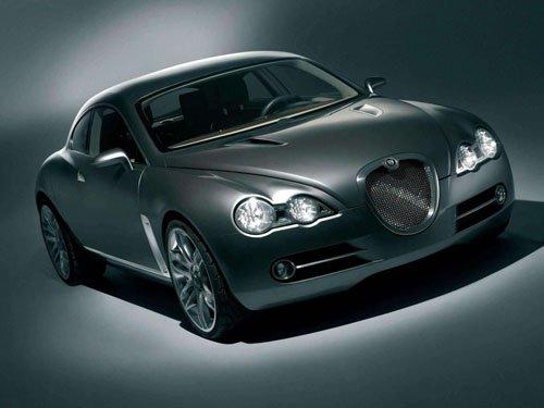"Jaguar RD6 Concept Car Poster Print on 10 mil Archival Satin Paper 16"" x 12"""