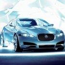"Jaguar C-XF Concept Car Poster Print on 10 mil Archival Satin Paper 16"" x 12"""