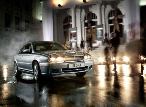 "Jaguar X-Type Car Poster Print on 10 mil Archival Satin Paper 16"" x 12"""