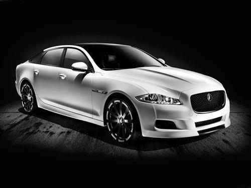 "Jaguar XJ75 Platinum Concept Car Poster Print on 10 mil Archival Satin Paper 16"" x 12"""