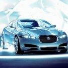 "Jaguar C-XF Concept Car Poster Print on 10 mil Archival Satin Paper 20"" x 15"""