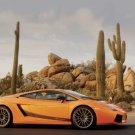 "Lamborghini Gallardo Superleggera Car Poster Print on 10 mil Archival Satin Paper 20"" x 15"""