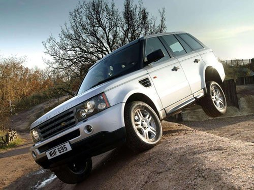 """Land Rover Range Rover Sport Car Poster Print on 10 mil Archival Satin Paper 16"""" x 12"""""""