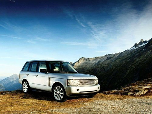 """Land Rover Supercharged Range Rover Car Poster Print on 10 mil Archival Satin Paper 16"""" x 12"""""""