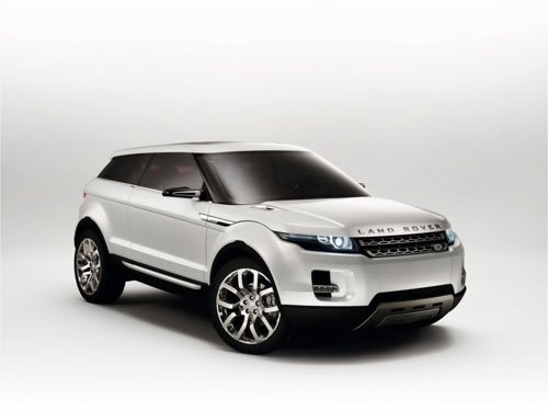 "Land Rover LRX Concept Car Poster Print on 10 mil Archival Satin Paper 16"" x 12"""