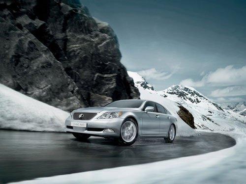 "Lexus LS460 AWD Car Poster Print on 10 mil Archival Satin Paper 16"" x 12"""