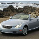 "Lexus SC430 Convertible Pebble Beach Car Poster Print on 10 mil Archival Satin Paper 16"" x 12"""