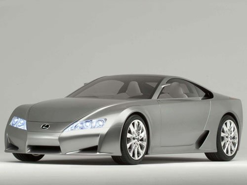"Lexus LF-A Concept Car Poster Print on 10 mil Archival Satin Paper 16"" x 12"""
