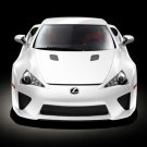 "Lexus LFA (2011) Concept Car Poster Print on 10 mil Archival Satin Paper 16"" x 12"""