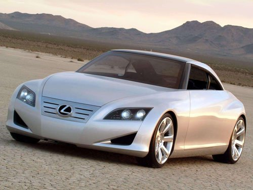 "Lexus LF-C Coupe Concept Car Poster Print on 10 mil Archival Satin Paper 16"" x 12"""
