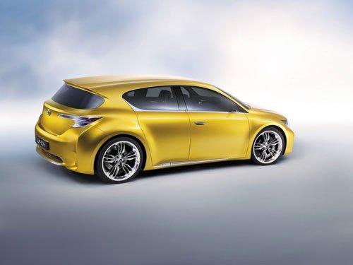 "Lexus LF-Ch Compact Hybrid Concept Car Poster Print on 10 mil Archival Satin Paper 20"" x 15"""