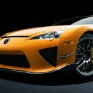 "Lexus LFA Nurburgring Edition Car Poster Print on 10 mil Archival Satin Paper 20"" x 15"""