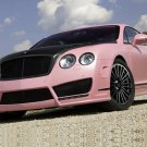 "Mansory Vitesse Rose Car Poster Print on 10 mil Archival Satin Paper 16"" x 12"""