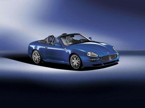 "Maserati Spyder Convertible 90th Anniversary Car Poster Print on 10 mil Archival Satin Paper 16""x12"""