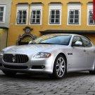 "Maserati Quattroporte 2009 Car Poster Print on 10 mil Archival Satin Paper 16"" x 12"""
