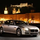 "Maserati Quattroporte 2008 Car Poster Print on 10 mil Archival Satin Paper 16"" x 12"""