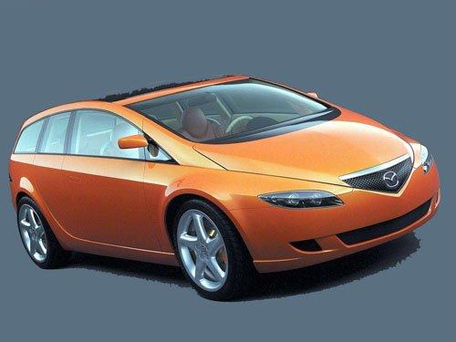 "Mazda MX Sport Tourer Concept Car Poster Print on 10 mil Archival Satin Paper 16"" x 12"""
