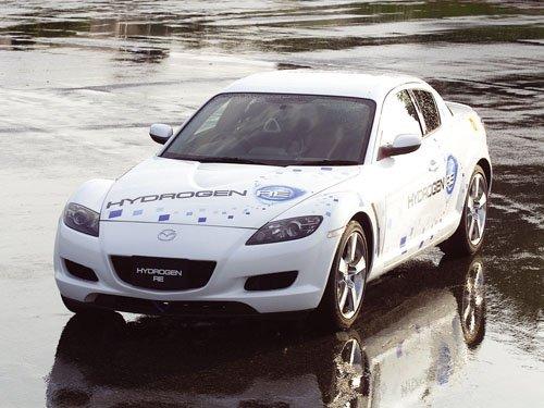 "Mazda RX-8 Hydrogen Concept Car Poster Print on 10 mil Archival Satin Paper 16"" x 12"""