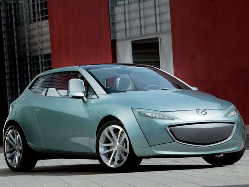 "Mazda Sassou Concept Car Poster Print on 10 mil Archival Satin Paper 16"" x 12"""