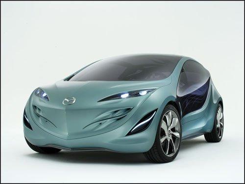 """Mazda Sky Concept Car Poster Print on 10 mil Archival Satin Paper 16"""" x 12"""""""