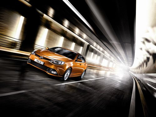 """MG 6 Car Poster Print on 10 mil Archival Satin Paper 16"""" x 12"""""""