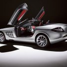 "Mercedes-Benz SLR Roadster Car Poster Print on 10 mil Archival Satin Paper 16"" x 12"""