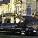 "Mercedes-Benz S 600 Guard Pullman Car Poster Print on 10 mil Archival Satin Paper 16"" x 12"""