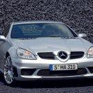 "Mercedes-Benz SLK55 AMG Car Poster Print on 10 mil Archival Satin Paper 16"" x 12"""